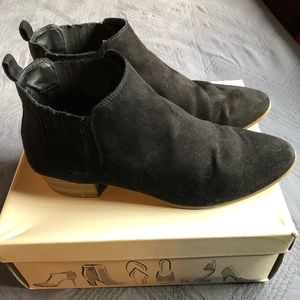 A new day black ankle booties 8.5